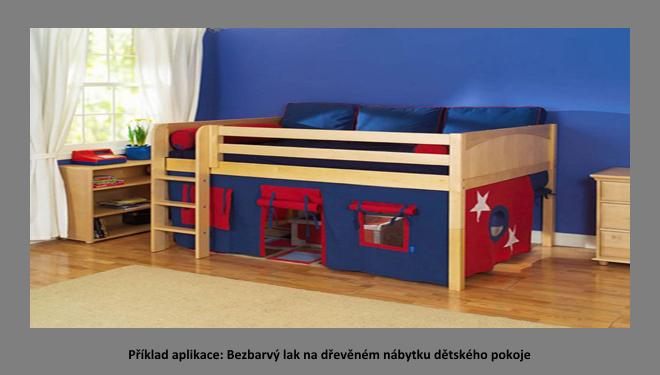 úprava dřeva v interiéru - dětský nábytek a hračky