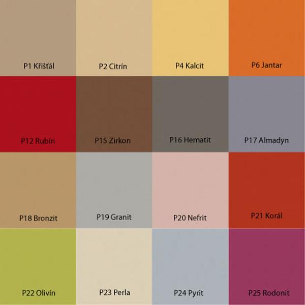 MAGNAT Pigment barvící - vzorník 16 odstínů