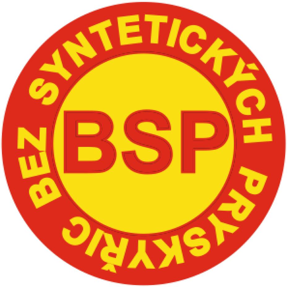 Logo označuje olejové přípravky, které jsou vyrobeny bez použití syntetických pryskyřic (pojiv)